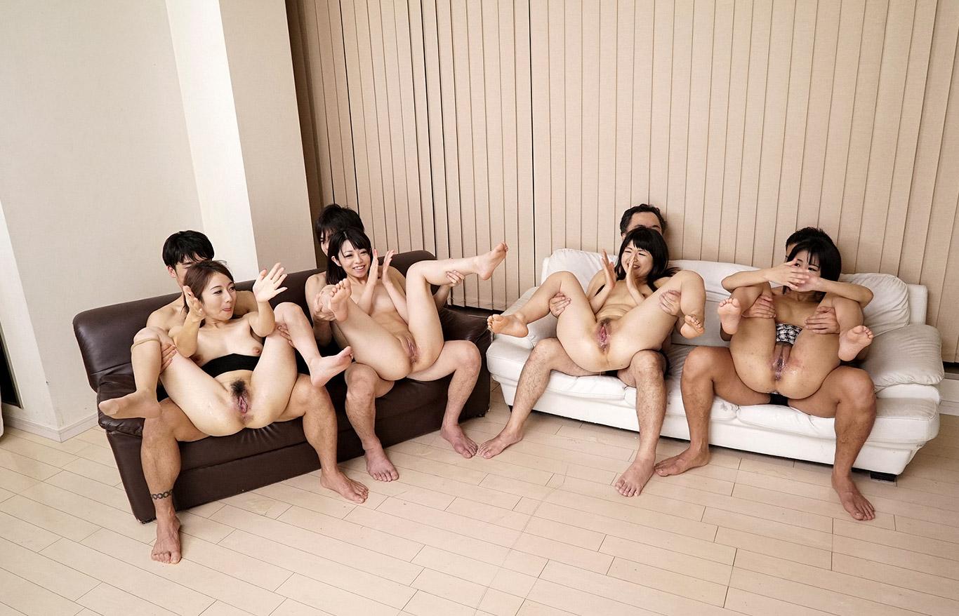 Crazy Japanese Gay Orgy